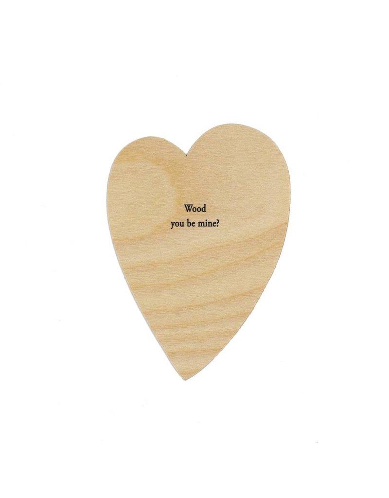 HWG Wood you be mine? Heart Card