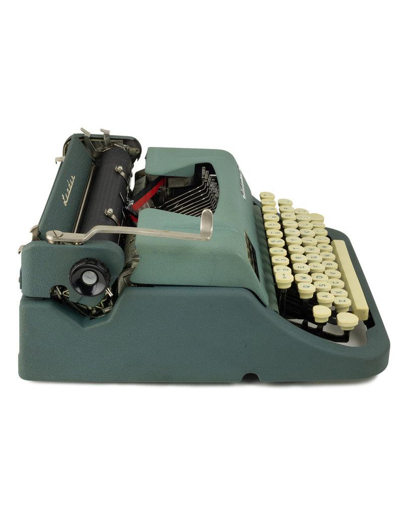 Underwood Underwood Leader Slate Blue Typewriter