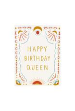 Maija Rebecca Hand Drawn Happy Birthday Queen