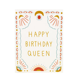 Maija Rebecca Hand Drawn Happy Birthday Queen