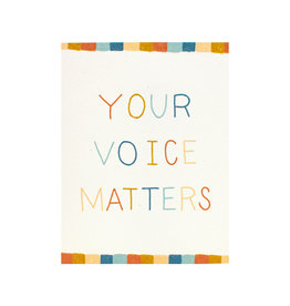 Maija Rebecca Hand Drawn Your Voice Matters