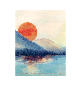 Maija Rebecca Hand Drawn Happy Birthday Sun Greeting Card