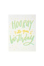 Dahlia Press Hooray It's Your Birthday