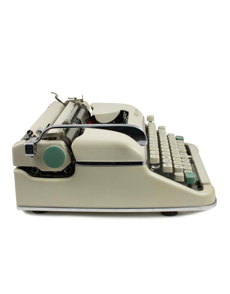 Olympia Cursive Grey typewriter