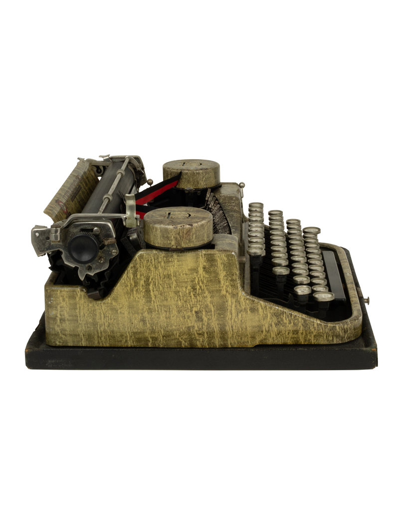 Underwood with Camo Finish typewriter