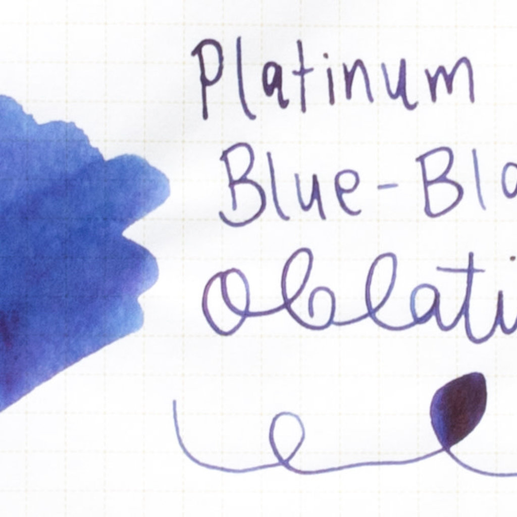 Platinum Platinum Bottled Ink Blue-Black