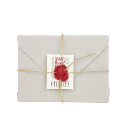 "Arpa Handmade Paper Set Grey 3.5x5.25"""