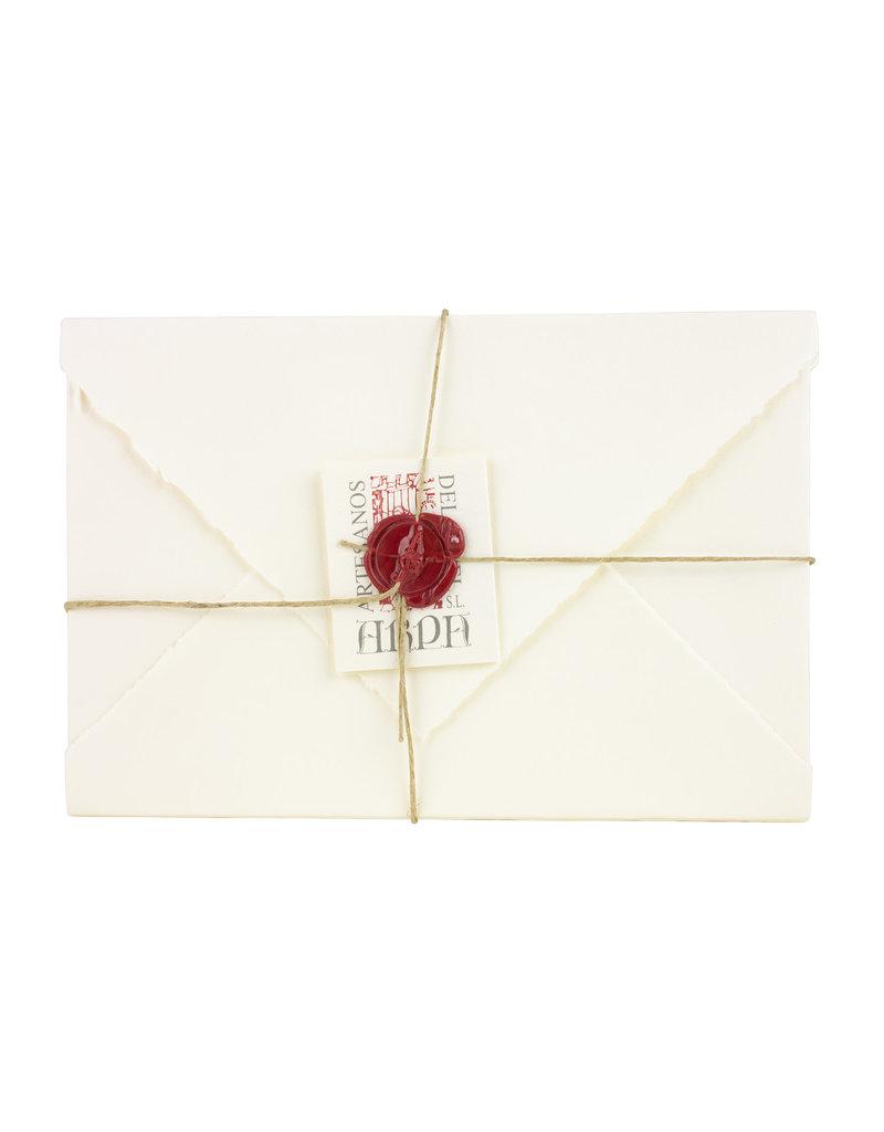 "Arpa Handmade Paper Set Ivory 4.5x6.75"""