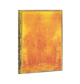 Paperblanks 2021 Flexis Ochre Ultra vertical Planner