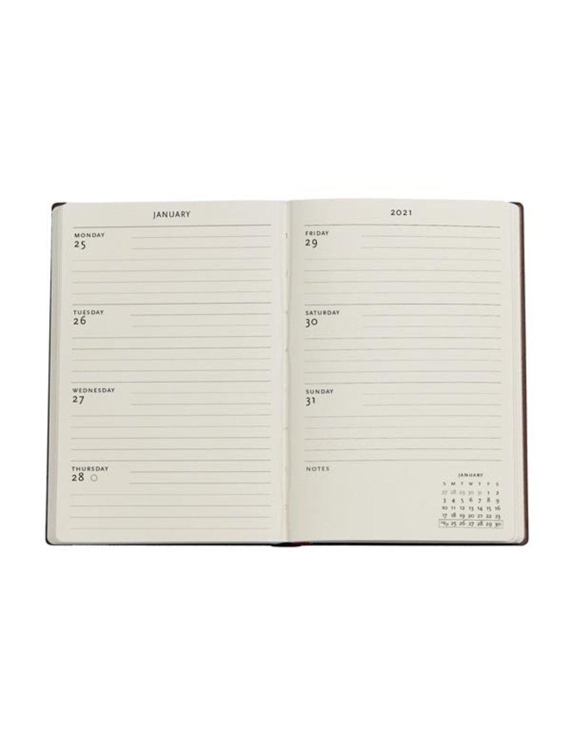 Paperblanks 2021 Poetry in Bloom Mini Horizontal Planner