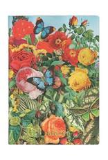 Paperblanks 2020-2021 Flexis Butterfly Garden Midi Horizontal Planner