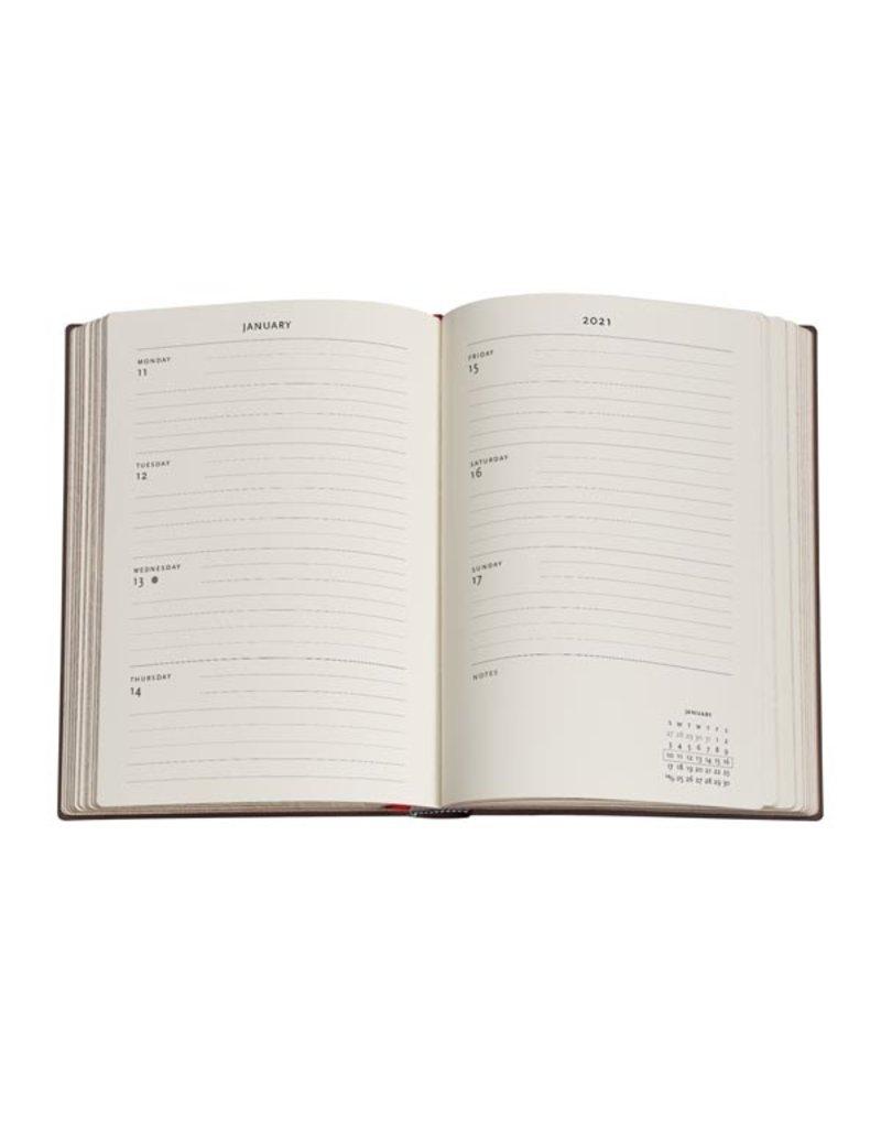 Paperblanks 2021 Poetry in Bloom Midi Horizontal Planner