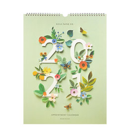 Rifle Paper 2021 Cut Paper Appointment Calendar