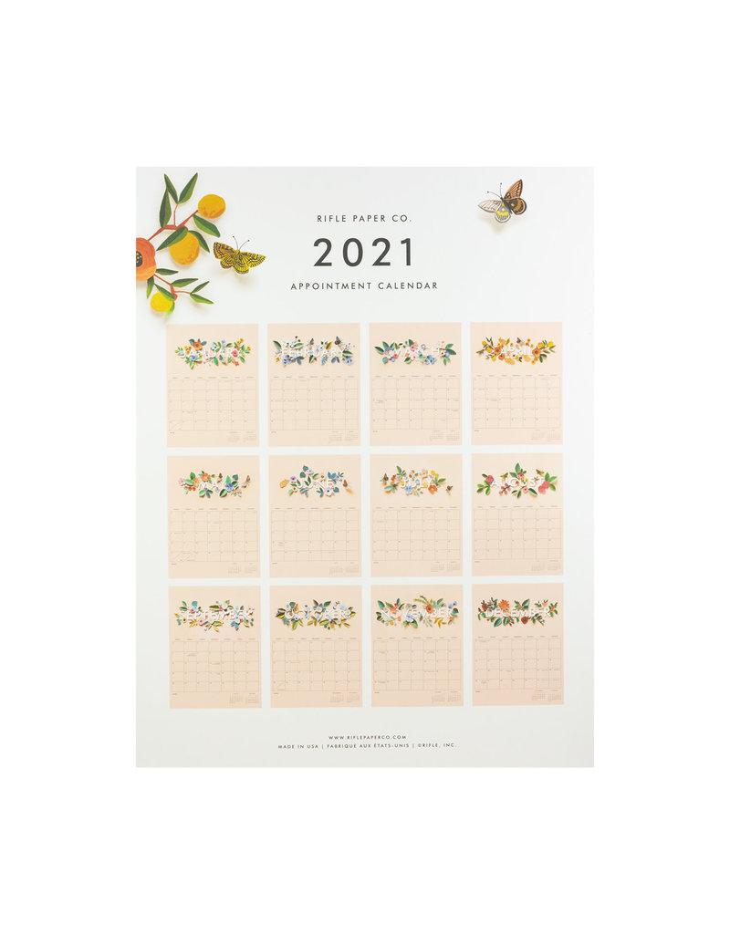 Rifle Paper 2021 Cut Paper Appointment Calendar