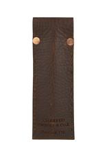 Charred Embers & Oak Leather Pen Case