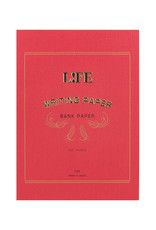 Life Life Bank Paper Pad Red A5