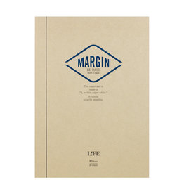 Life Life Notes Margin Top Bound Pad Blue B5