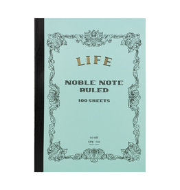 Life Noble Notebook Side Bound Blue Ruled B5