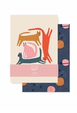 Fringe Cat Moon Mini Journal set of 2