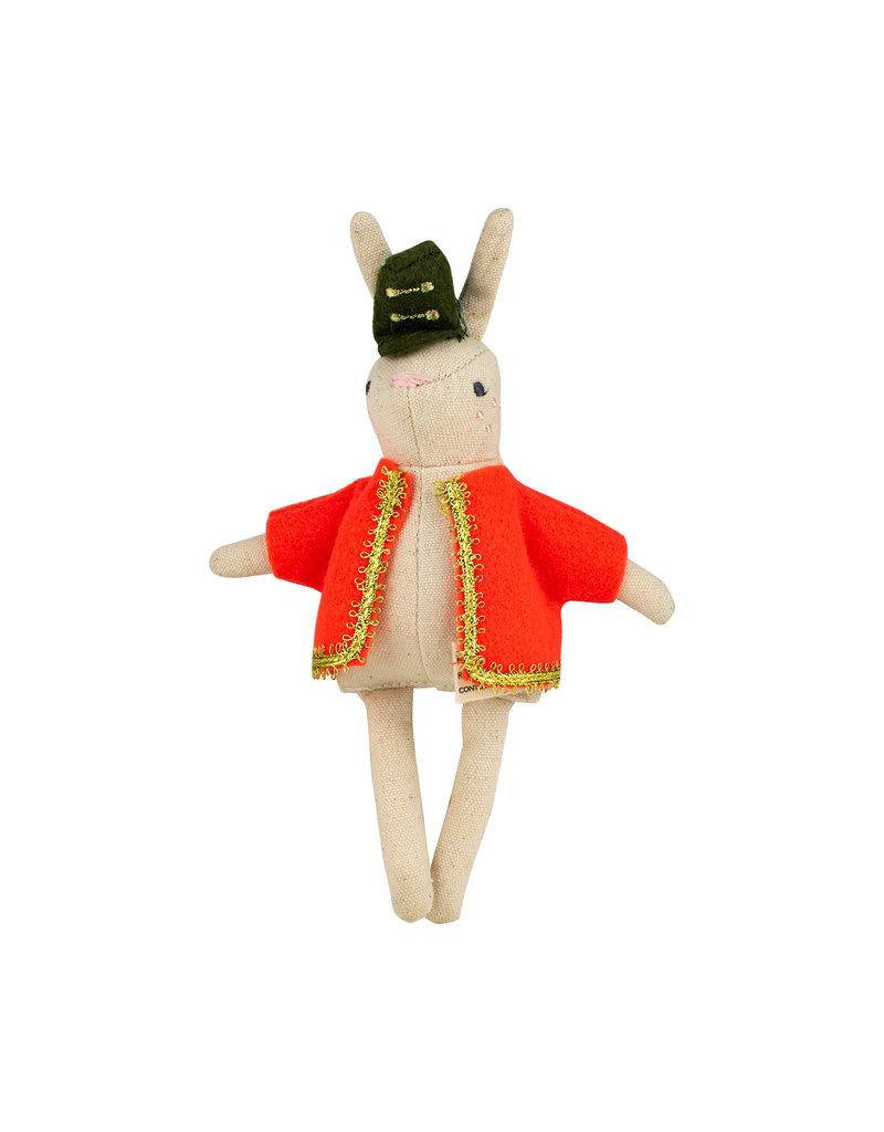Rabbit Soldier Ornament