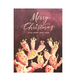 Cactus Merry Christmas Box of 6
