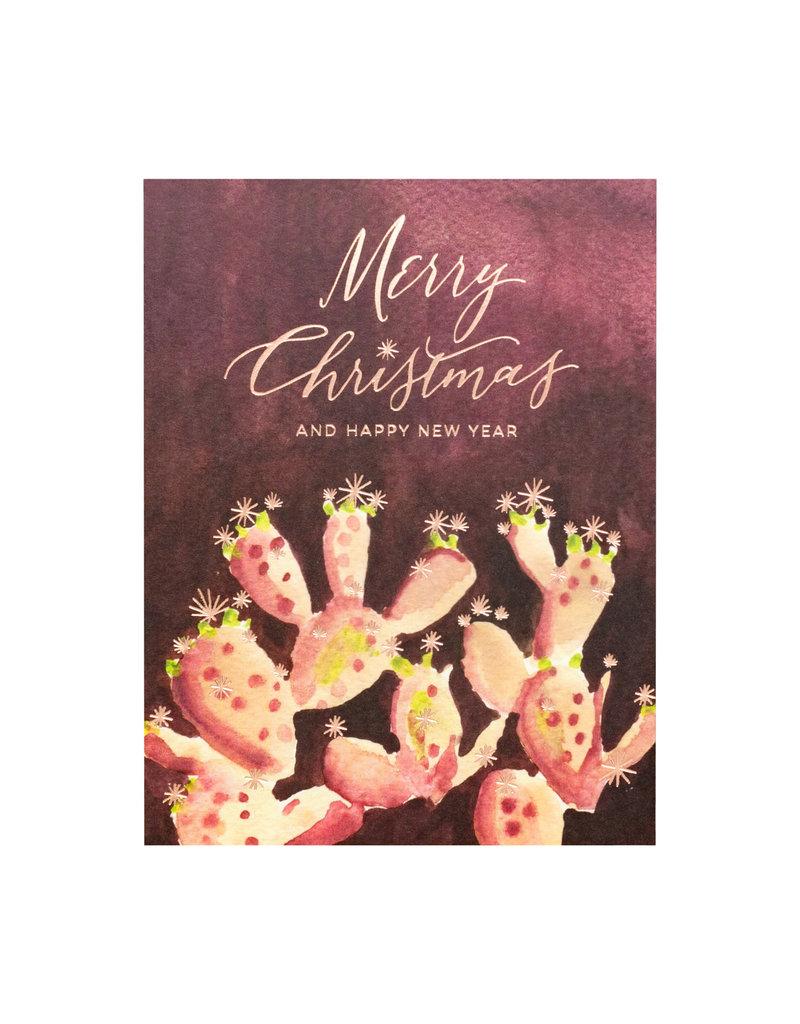Cactus Merry Christmas Box of 6