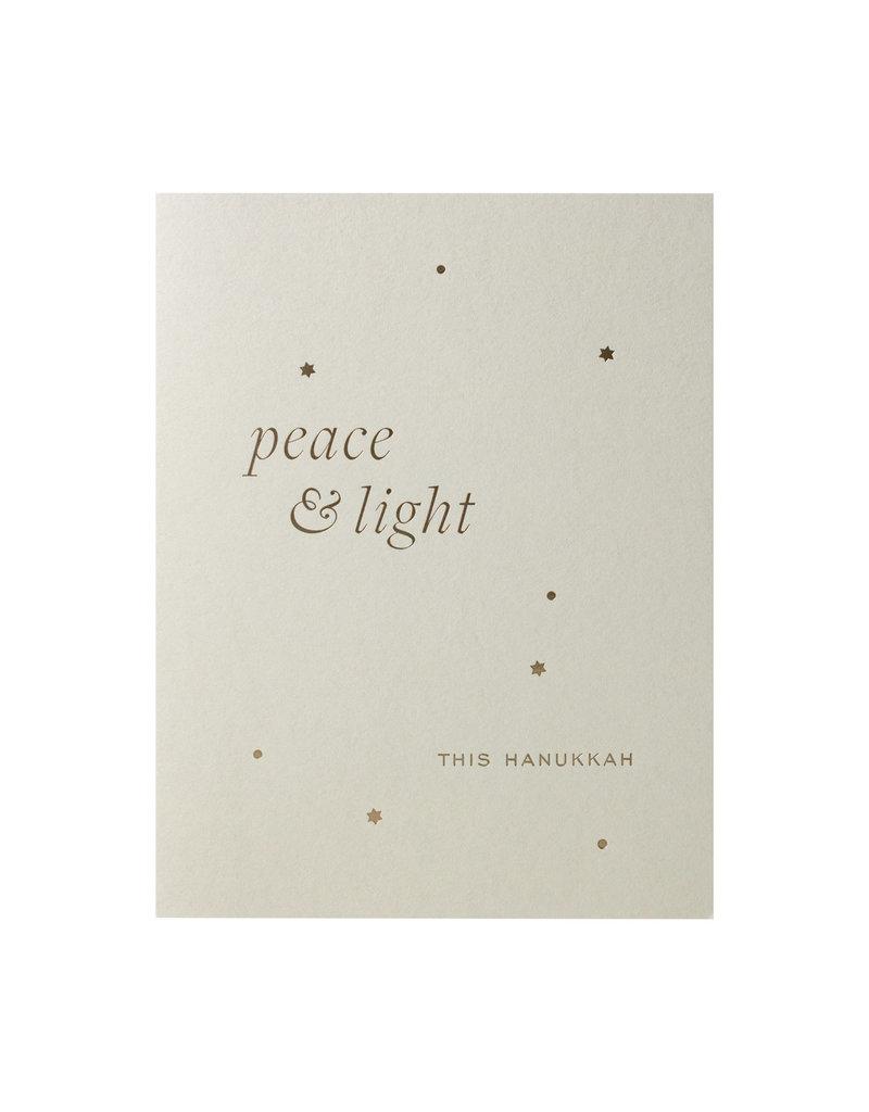 Smitten On Paper Peace and Light Hanukkah Box of 6