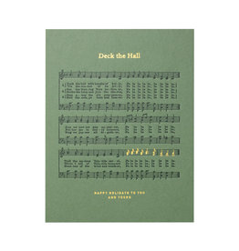 Woodsy Foxman Deck the Hall sheet music