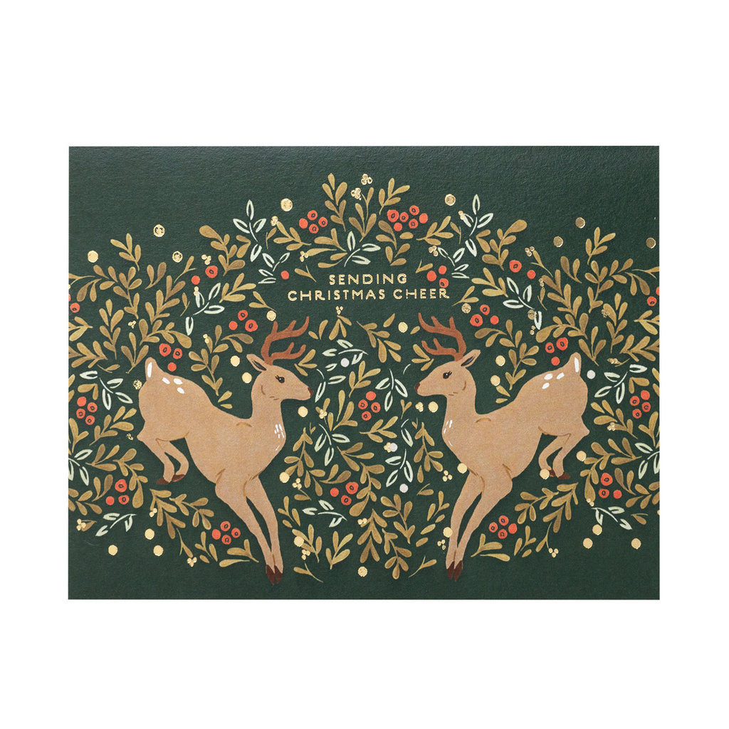 Seedlings Prancer Holiday Card