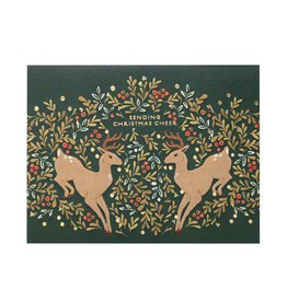 Seedlings Prancer Holiday Card