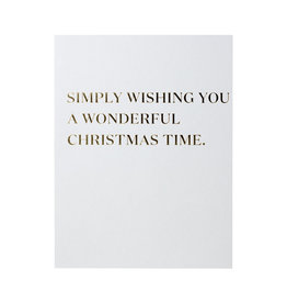 Simply Wishing You Card