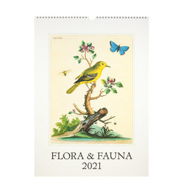 cavallini 2021 Flora and Fauna Wall Calendar
