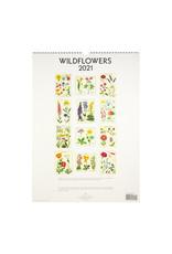 cavallini 2021 Wildflowers Wall Calendar
