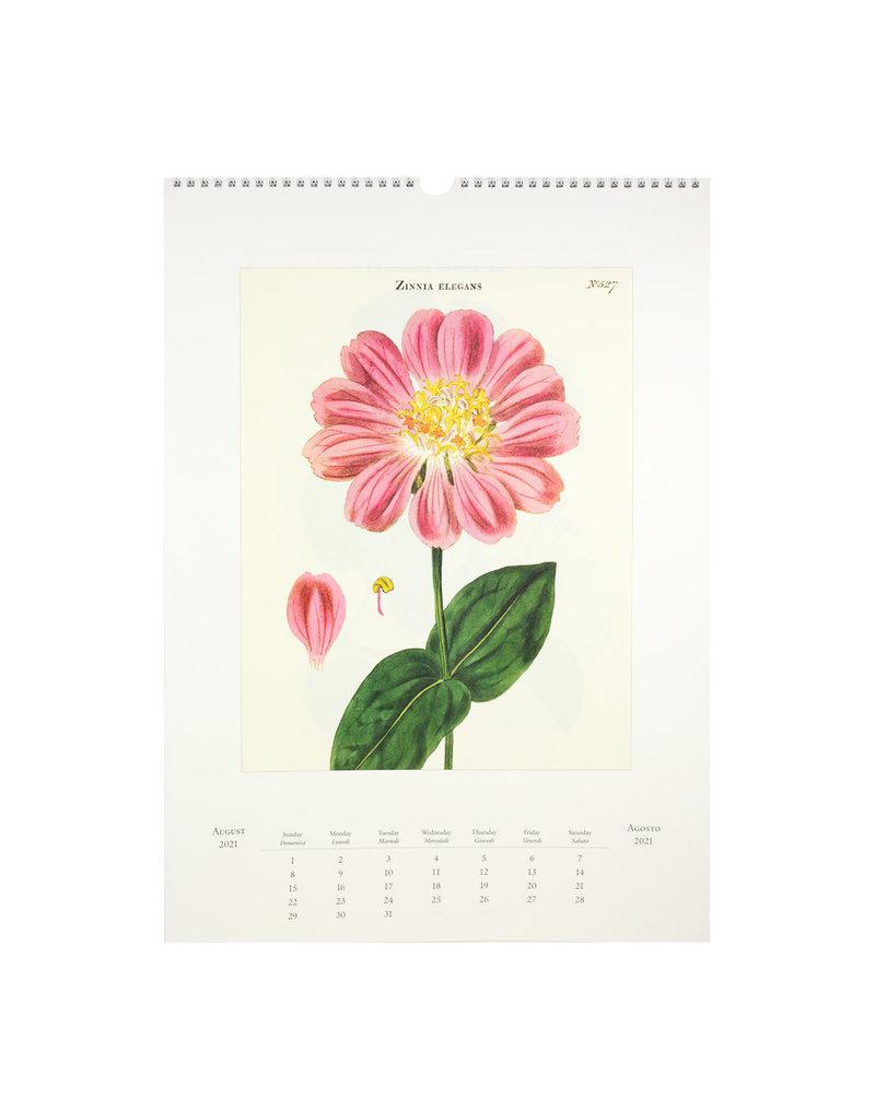 cavallini 2021 Botanica Wall Calendar