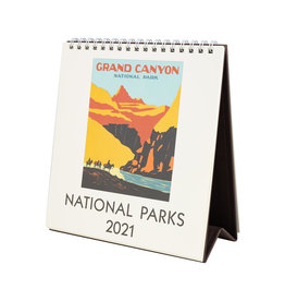 cavallini 2021 National Parks Desk Calendar
