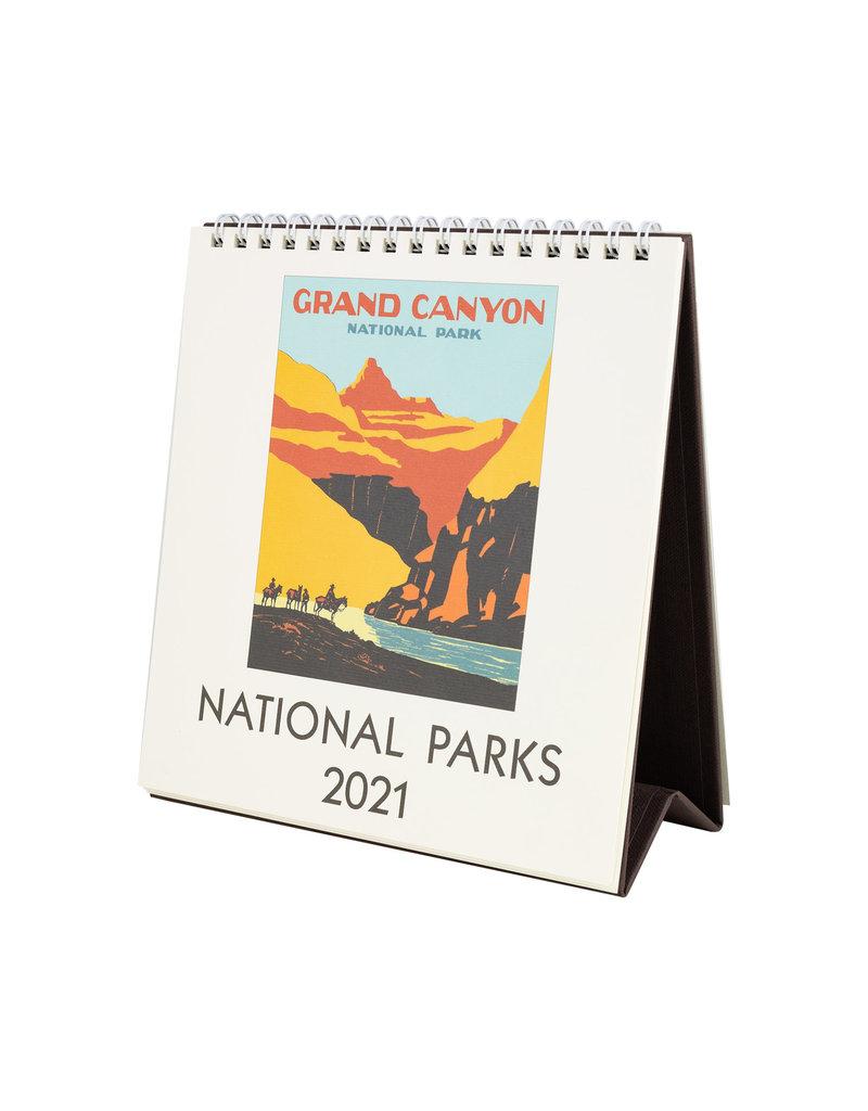 cavallini 2021 National Parks Desk Calendar