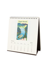 cavallini 2021 Seattle Desk Calendar