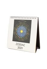 cavallini 2021 Zodiac Desk Calendar