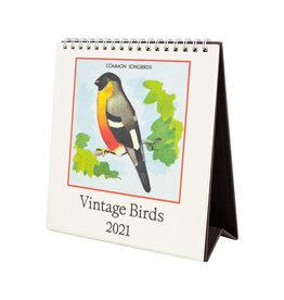 cavallini 2021 Birds Desk Calendar