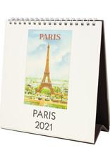 cavallini 2021 Paris Desk Calendar