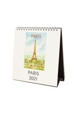 cavallini 2021 Paris Desk Calendar