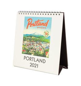 cavallini 2021 Portland Desk Calendar