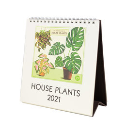 cavallini 2021 House Plants Desk Calendar
