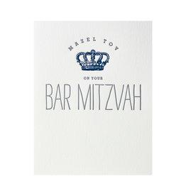 Lucky Bee Press Blue Bar Mitzvah Crown