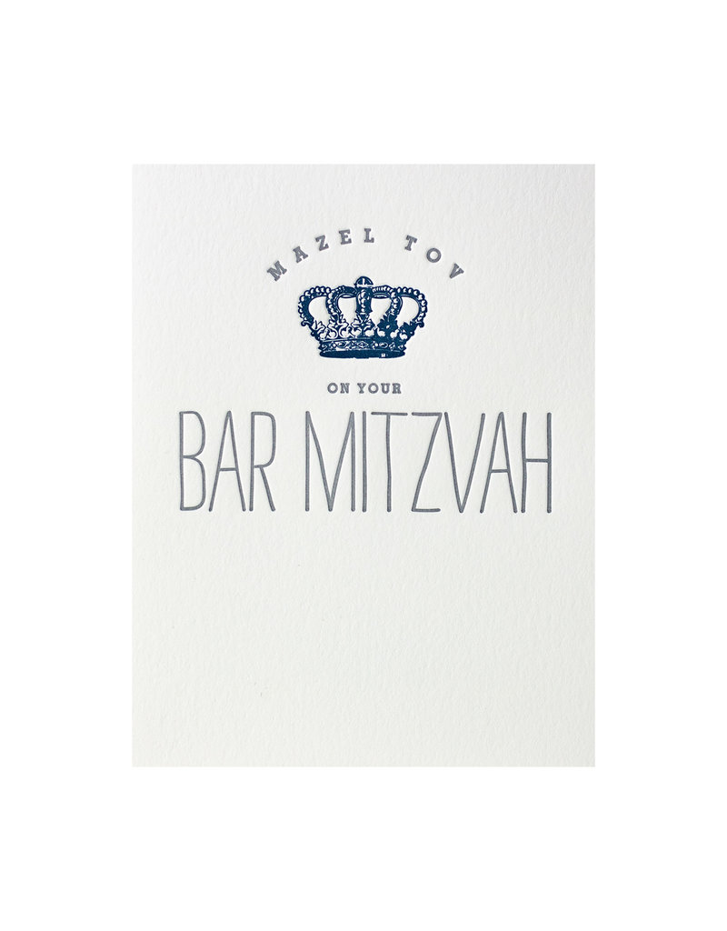 Blue Bar Mitzvah Crown