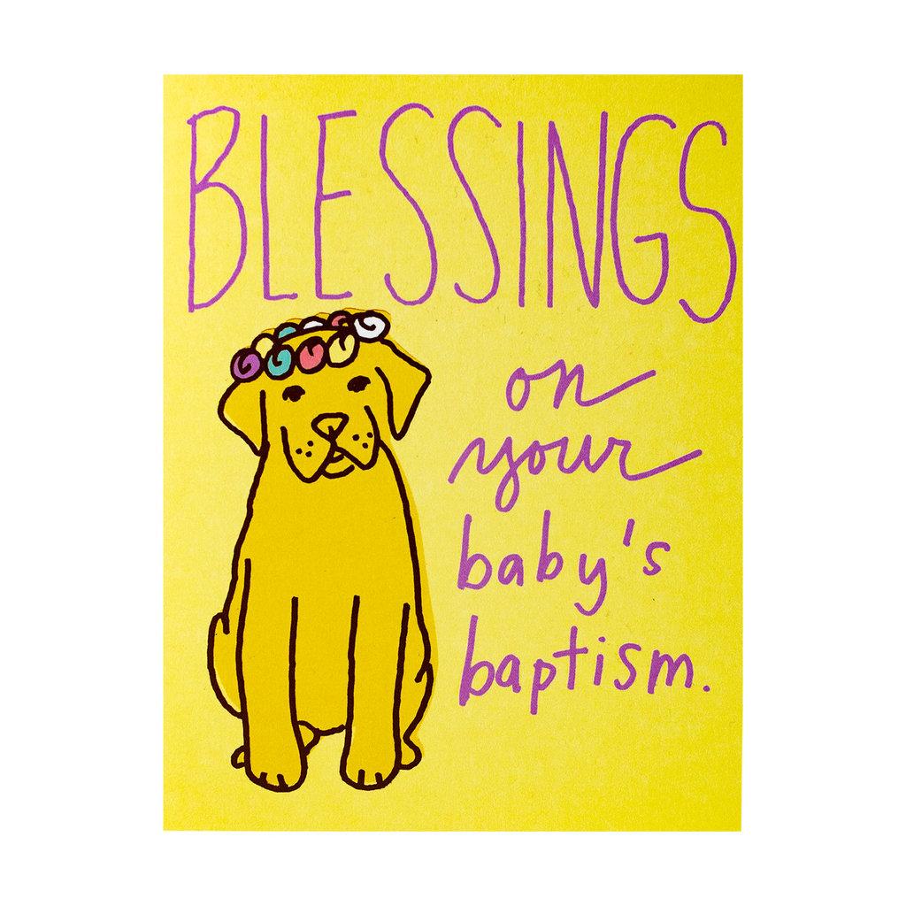 La Familia Green Baptism Pup