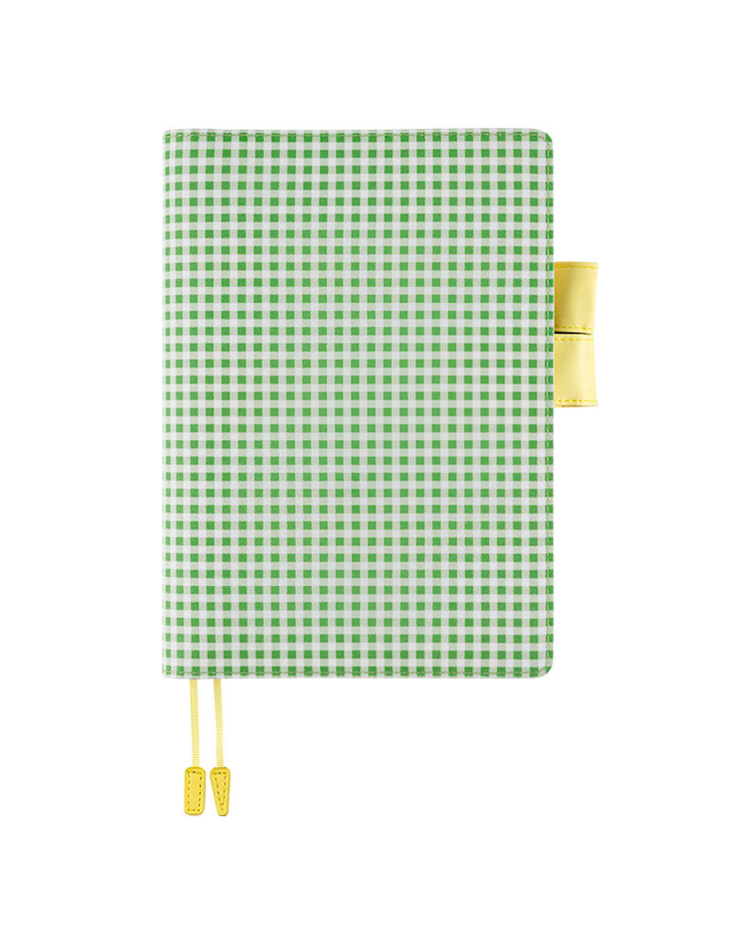Hobonichi A5 Apple Green Gingham Hobonichi Techo 2021