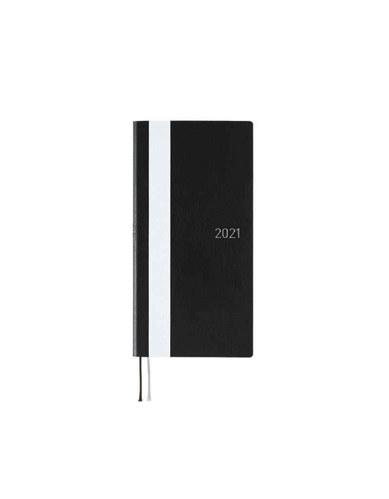 Hobonichi Weeks Black White Line Hobonichi Techo 2021