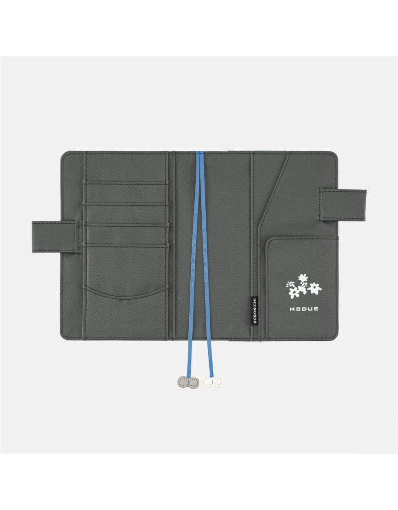Hobonichi A6 Kodue Hibino: kadan (Gray) Hobonichi Techo 2021