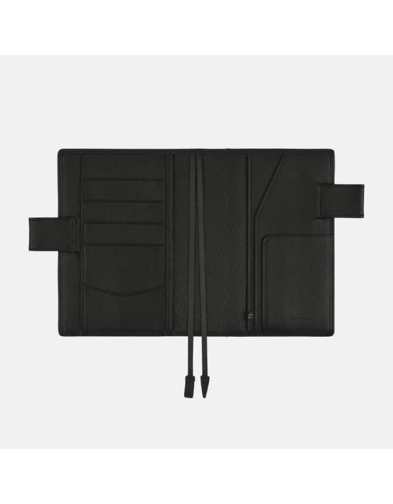 Hobonichi A6 TS Leather Basic Black Hobonichi Techo 2021